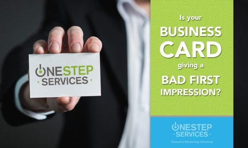 Is your business card making a bad first impression?