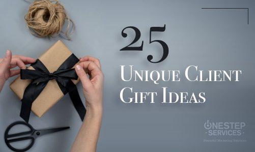 25 Unique Client Gift Ideas