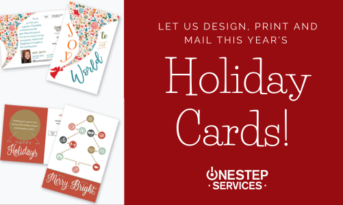Our New Letter Shop Makes It Easy To Order Holiday Cards!