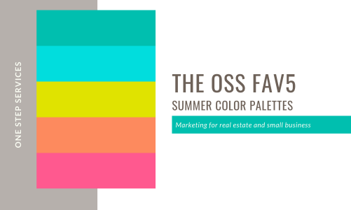 Our Fav5 Color Palettes for Summer 2021