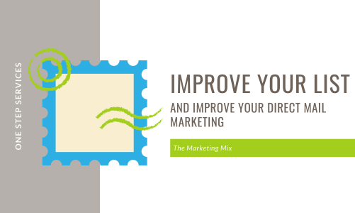 Improve your direct mail marketing by improving your mailing list