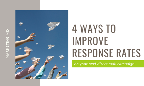 Improve response rates of your next direct mail campaign
