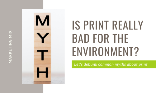 Let's debunk common myths about print