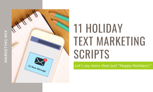 11 Holiday SMS Marketing Scripts