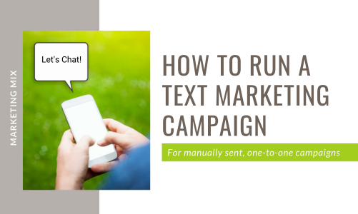 How to run a text marketing campaign