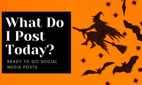 Free Social Media Posts for October